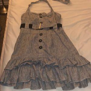 Denim pin up girl dress.